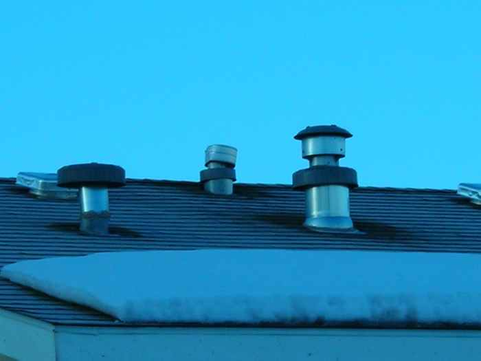 Roof Air Intake : Diagrams furnacewaterheaterfreshairadder